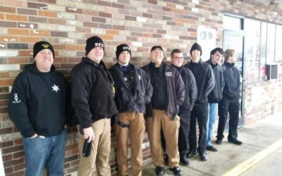 Bethalto Police Department, explorers provide Christmas surprise at Hit N Run