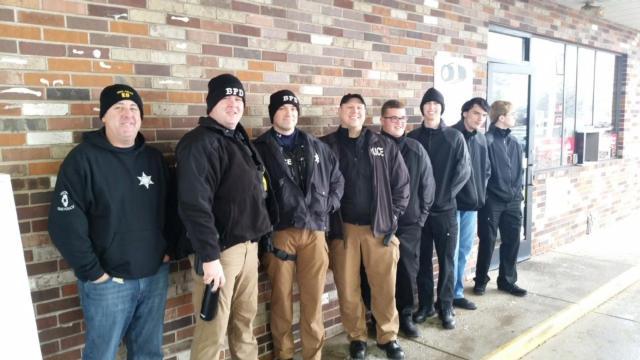 Bethalto Police Department, explorers provide Christmas surprise at Hit N Run